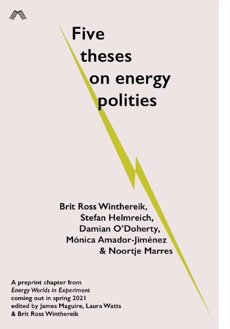 Five Theses on Energy Polities